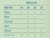 Hadley Roma MS739 | Sizing Information