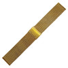 Yellow Gold-Tone Mesh Bracelet - Stainless Steel (HR)