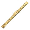 Gold-Tone Ladies Oyster-Style, 12-16 Adjustable (HR)