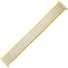 Twist-O-Flex Wide One, 18-22mm, Gold/Silver (Speidel)