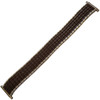 Twist-O-Flex Romunda, 16-19mm, Dark Brown/Silver (Speidel)