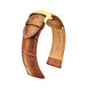 Hirsch Lord - Golden Brown with Gold-Tone Deploy Buckle