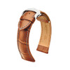 Hirsch Lord - Golden Brown with Polished Deploy Buckle