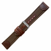 Brown- Leather & Canvas, Water Resistant (HR-MS868)