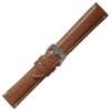 Tan Italian Leather Watch Band   Hadley Roma MS852