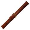 Cognac Genuine Ostrich Watch Band | Hadley Roma MS2003