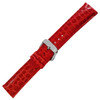 Ladies Genuine Alligator, Glossy (HR-LS829) - Red
