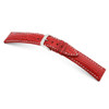 Red RIOS1931 Wave, Genuine Shark Watch Band | TheWatchPrince.com