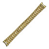 Gold-Tone President-Style Metal Watch Band with Hidden Clasp | MB422