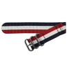 Patriot Two-Piece Ballistic Nylon Watch Strap (V2) with Stainless Steel Hardware | TheWatchPrince.com