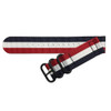 Patriot Two-Piece Ballistic Nylon Watch Strap (V2) with PVD (Black) Hardware | TheWatchPrince.com