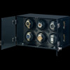 Milano, Carbon Fiber   Watch Winder   For 6 Watches