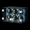 Milano, White | Watch Winder | For 6 Watches | Closed