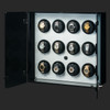 Milano, White   Watch Winder   For 12 Watches