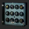 Milano, White   Watch Winder   For 12 Watches   Closed