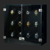 Milano, Smoked Acrylic | Watch Winder | For 12 Watches | Closed