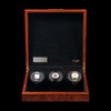 Burl | Watch Winder | Artisan Collection | Front, Open