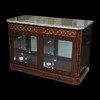 Orbita Bergamo, Rosewood Cabinet Watch Winder | For 40 Watches  | Closed