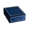 Maple Wood, Blue | Wooden Watch Box | for 12 Watches