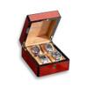 Venlo Triple Burlwood   Wooden Watch Box   for 4 Watches