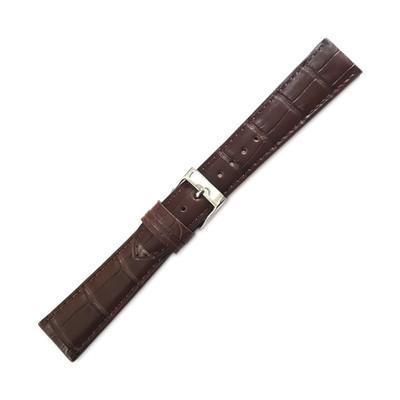 Dunthorp Statesman Dark Brown Alligator Watch Strap