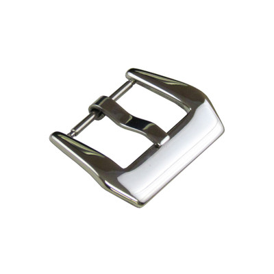 Polished Pre-v Watch Buckle | Spring Bar Connection