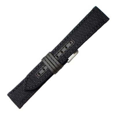 Genuine Kevlar Watch Band with Black Stitching | Hadley-Roma MS848