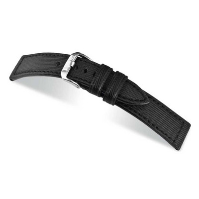 Black RIOS1931 Advance, Synthetic Nytech, Water Resistant Watch Band | TheWatchPrince.com