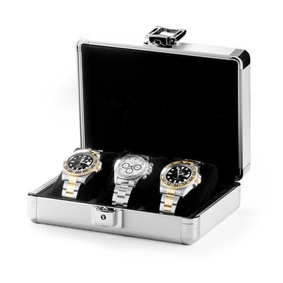 Lugano 3 Aluminum Watch Case (Orbita)
