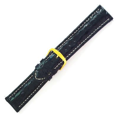 Black Polished Sport Crocodile (Stuller)