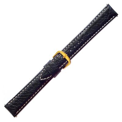 Black Sport Calf - Accent Stitching (Stuller)