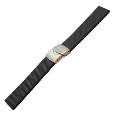 """Black Model """"300-D"""" - Premium Italian Rubber (Bonetto Cinturini)"""