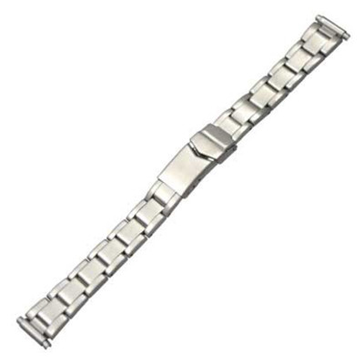 Stainless Steel Ladies Oyster-Style, 12-16 Adjustable (HR)