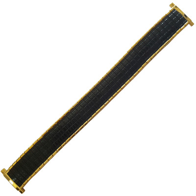 Twist-O-Flex Romunda, 16-19mm, Black/Gold (Speidel)
