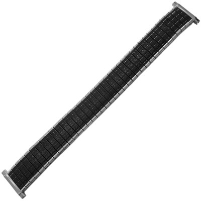 Twist-O-Flex Romunda, 16-22mm, Black/Silver (Speidel)