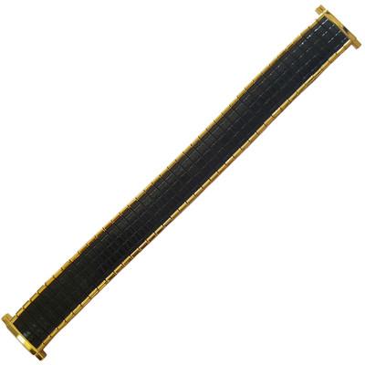Twist-O-Flex Romunda, 16-19mm, Black/Gold, XL (Speidel)