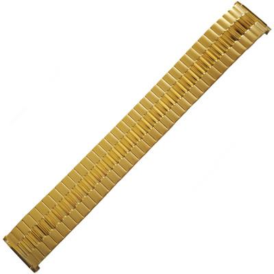 Twist-O-Flex Wide One, 16-21mm, Gold-Tone (Speidel)
