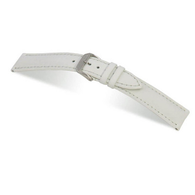 White RIOS1931 Sunset, Water Resistant Leather Watch Band | TheWatchPrince.com