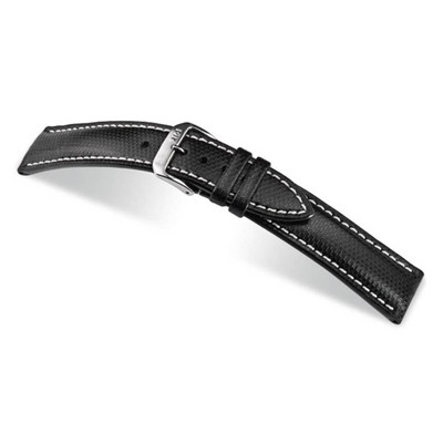 Black RIOS1931 Next, Synthetic & Leather Watch Band | TheWatchPrince.com
