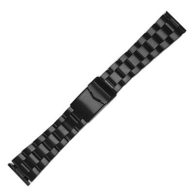 Black (PVD) Oyster-Style Bracelet | Hadley Roma MB591