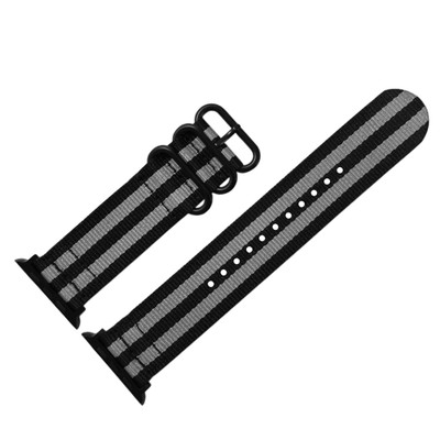 Bond PVD Two Piece Ballistic Nylon   Fits 38mm Apple Watch
