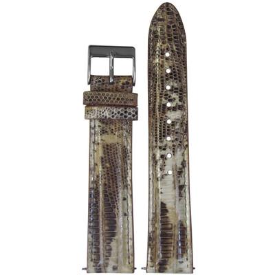 18mm Bone Teju Lizard for Michele   (QR Pins)