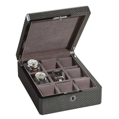 Carbon Fiber Watch Box | For 9 Watches