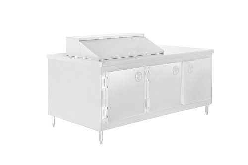 Cold Storage Prep Table Back
