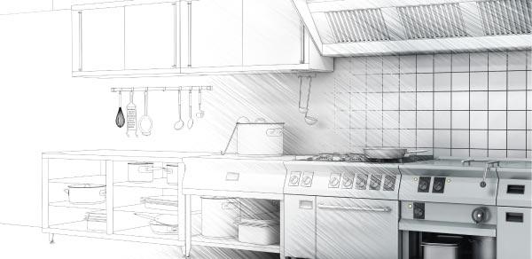 Custom Commercial Kitchen Design