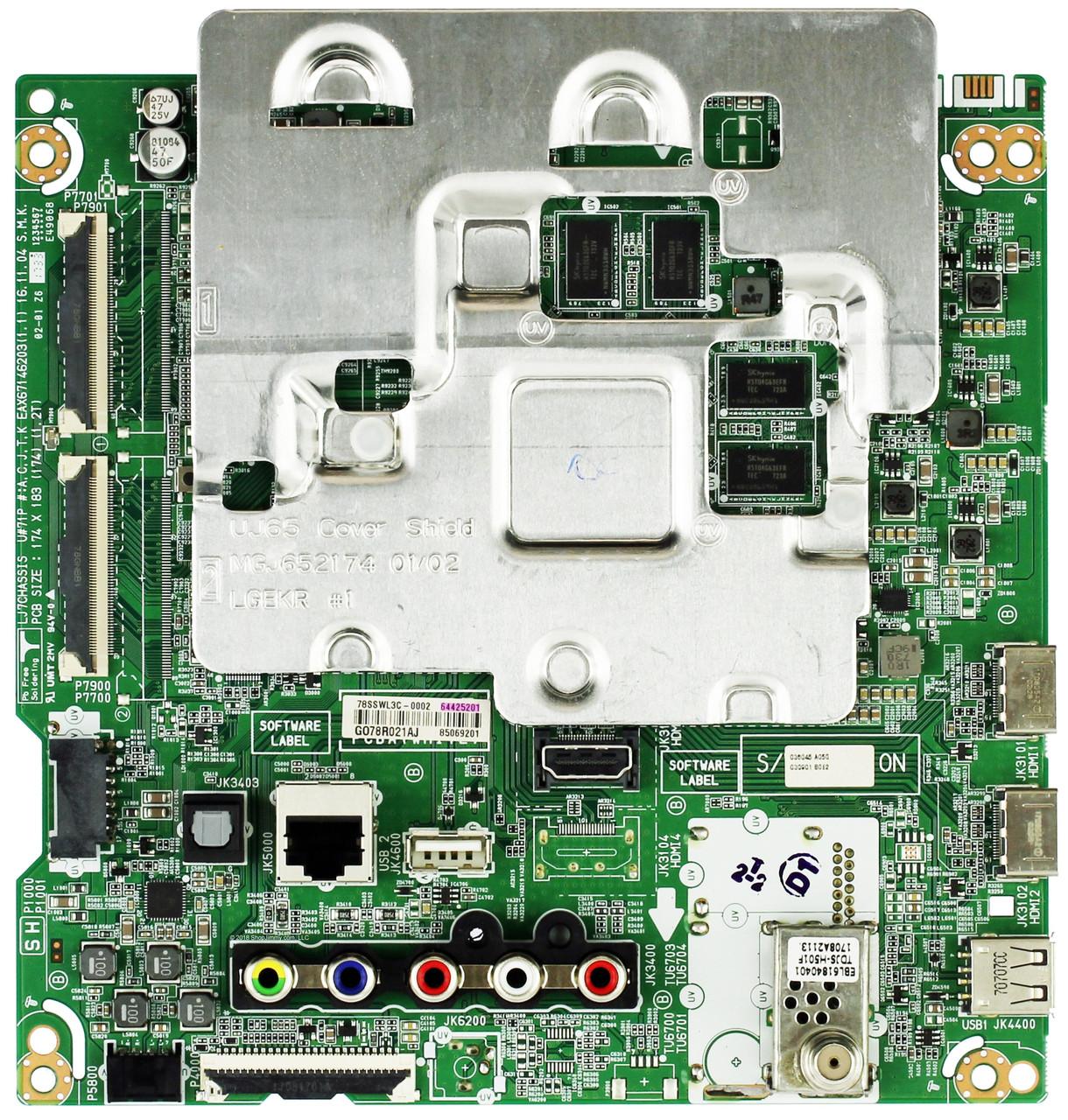 LG EBT64482701 Main Board for 55UJ6200-UA.CUSYLH