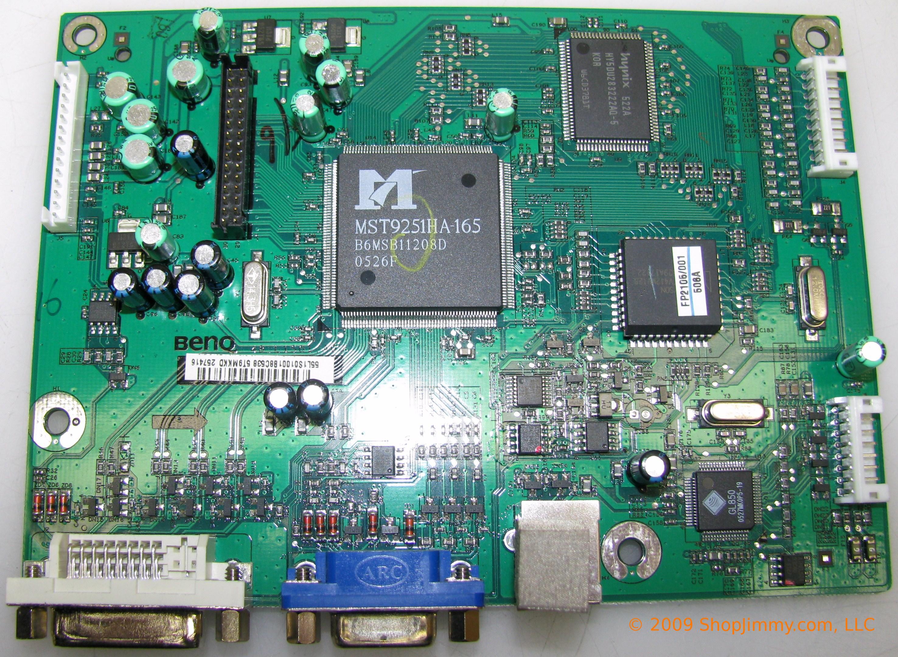 HP 55.L1S01.001 (48.L1S01.A00) Main Board for HSTND-2B05