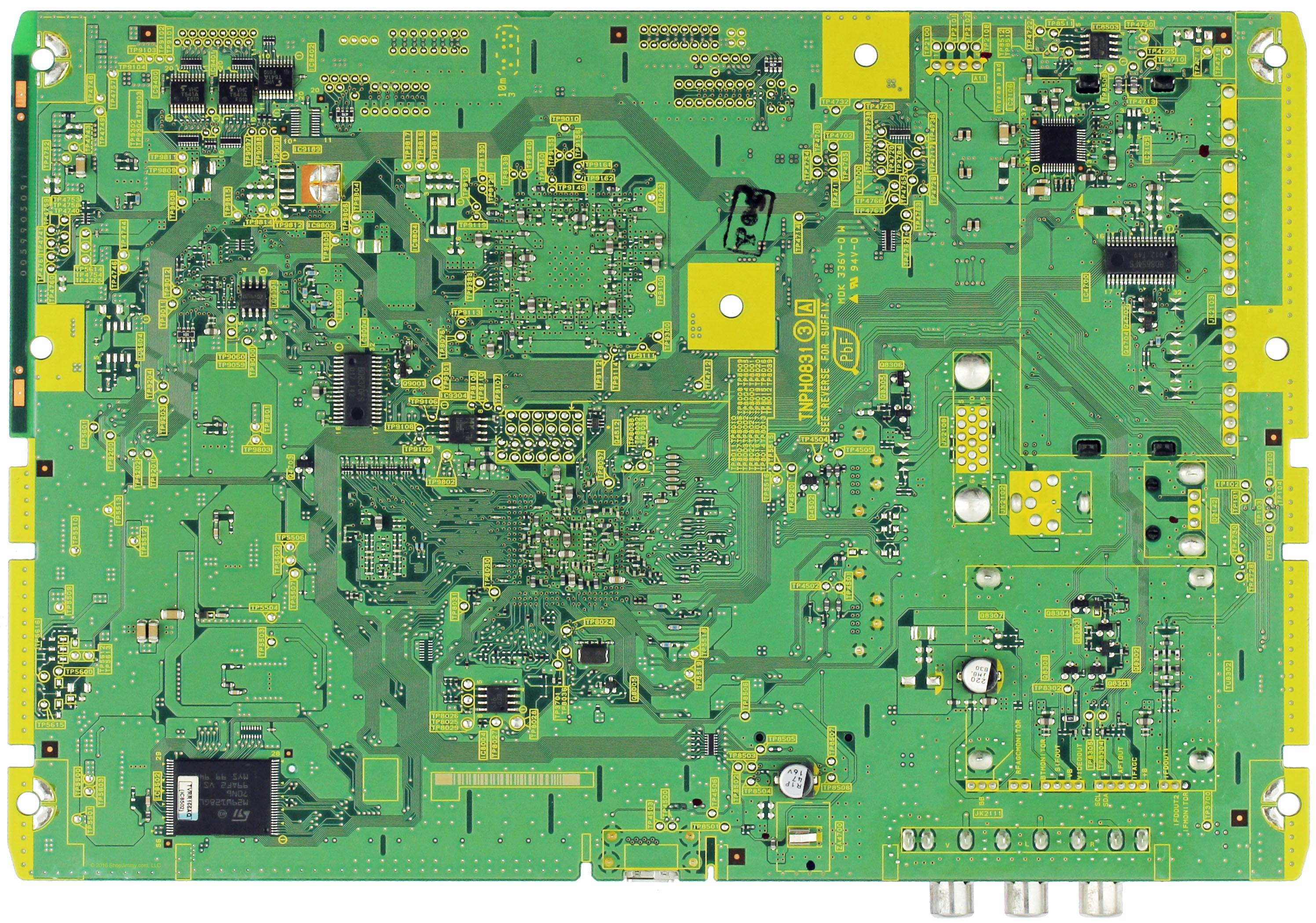 TNPH0831 Panasonic TXN//A1LHUUS A Board for TC-P42S2