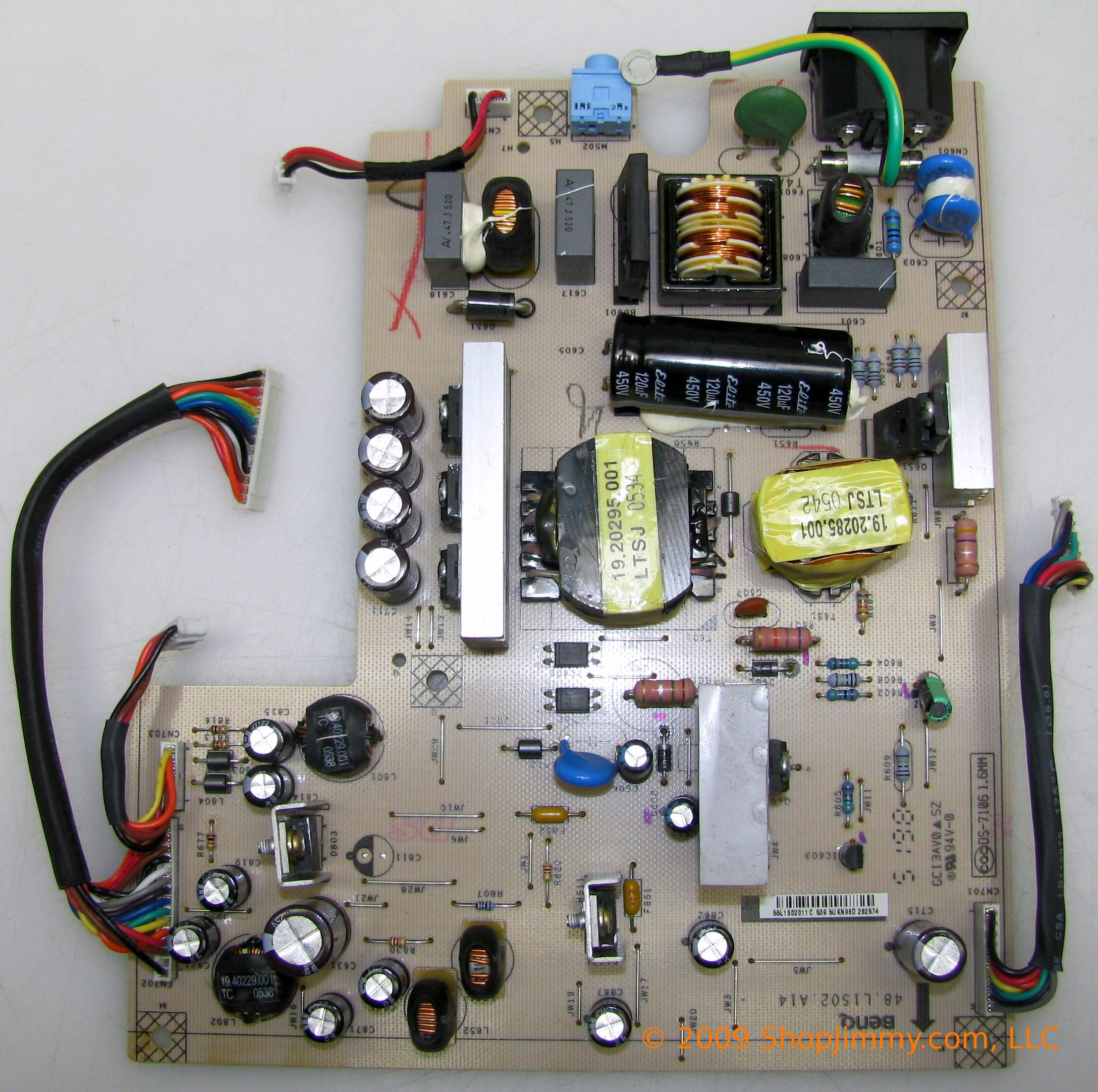 HP 55.L1S02.011 (DS-71061.6MM) Power Supply for HSTND-2B05