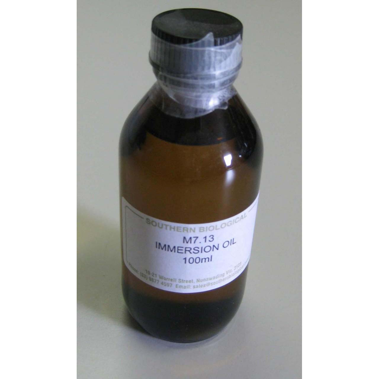 M7.13 - Immersion oil, type A, 150cs
